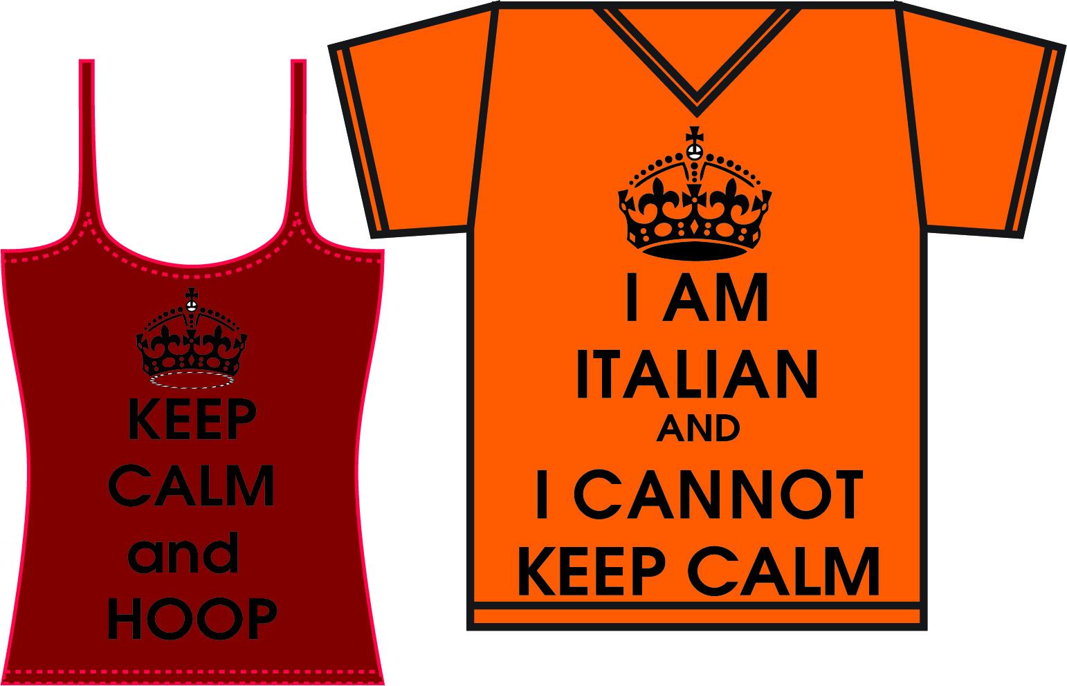 T shirt design keep calm - Posted