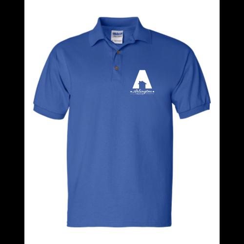 Embroidered arlington polo the shirt printer